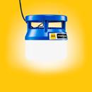 Luminárias MBerg® de 48 V para canteiros de obras